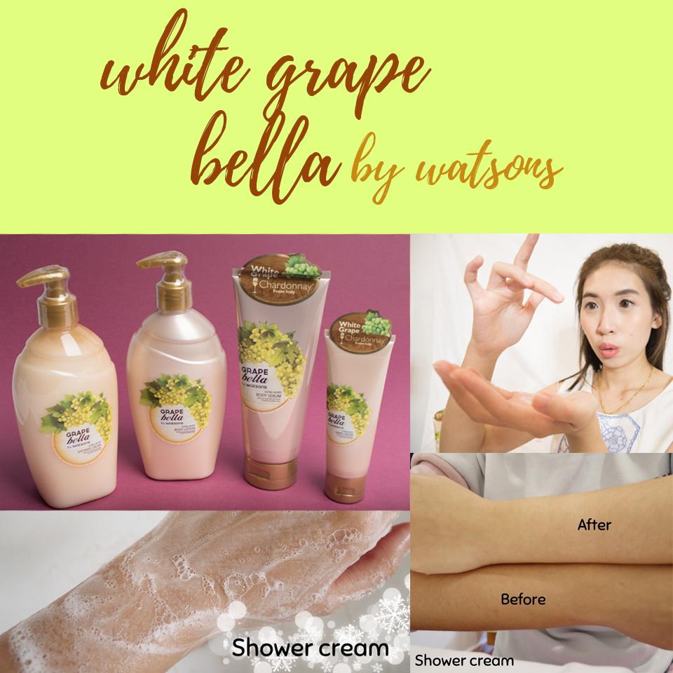 รีิวิว Grape bella by Watson ราชินีไวน์ขาว ขาวแค่ไหนมาดูกัน^^