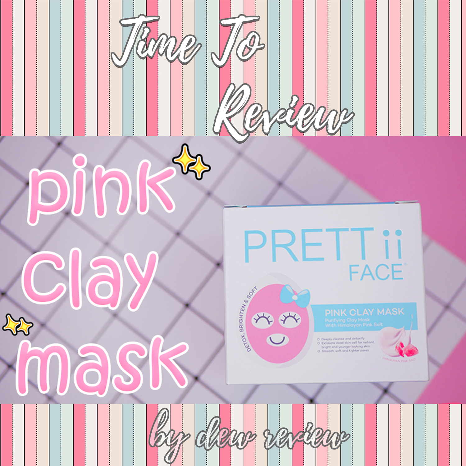 [Review] Prettii Face Pink Clay Mask