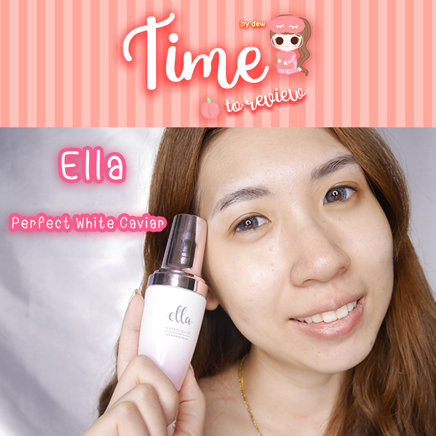 [Review] ELLA Perfect White Caviar Concentrated Serum