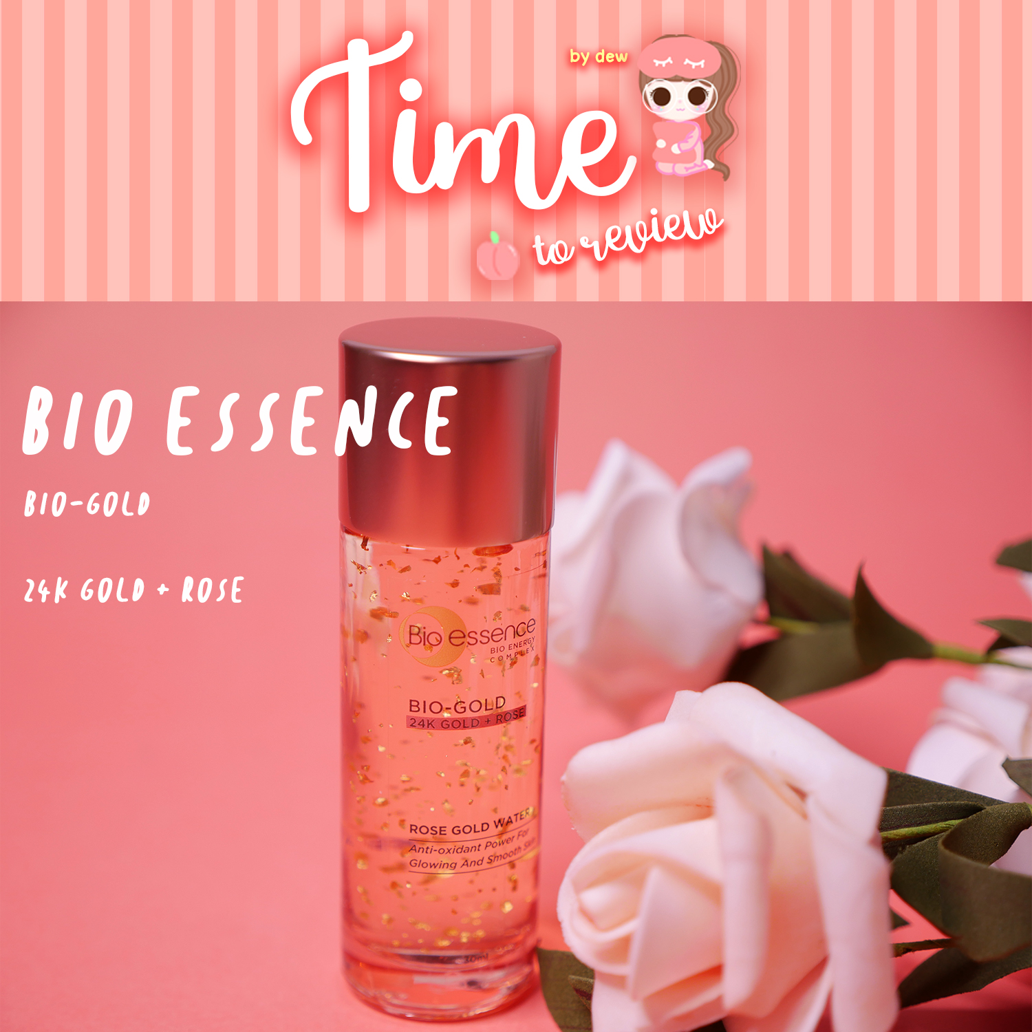 [Review]Bio Essence Bio-Gold Rose Gold Water