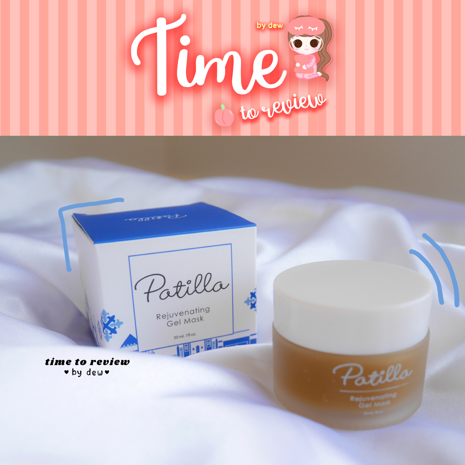 [Review] Patilla Rejuvenating Gel Mask